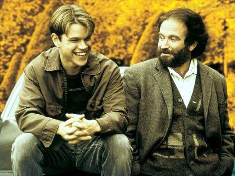 Gênio Indomável, Matt Damon, Will Hunting, Robin Williams, Sean Maguire, Ben Affleck, Chuckie, 1998, EUA, Dublado, 12