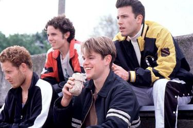 Gênio Indomável, Matt Damon, Will Hunting, Robin Williams, Sean Maguire, Ben Affleck, Chuckie, 1998, EUA, Dublado, 3