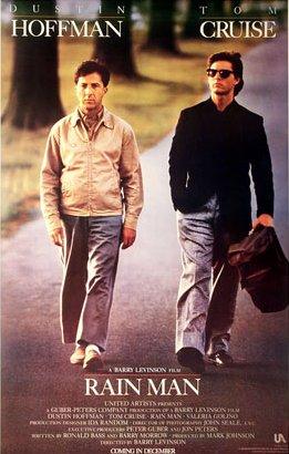 Rain Man, Dustin Hoffman, Tom Cruise, Valeria Golino, Comédia, drama, filme, cine mp4, 3