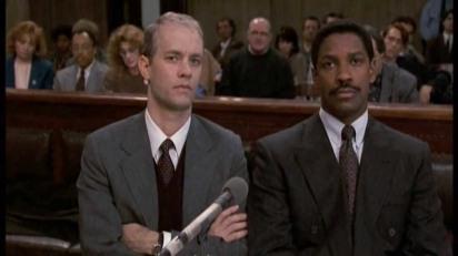 Tom Hanks, Denzel Washington, Antonio Banderas, Filadélfia, 1993, Philadelphia, filme, 1