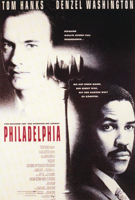 Tom Hanks, Denzel Washington, Antonio Banderas, Filadélfia, 1993, Philadelphia, filme, 8