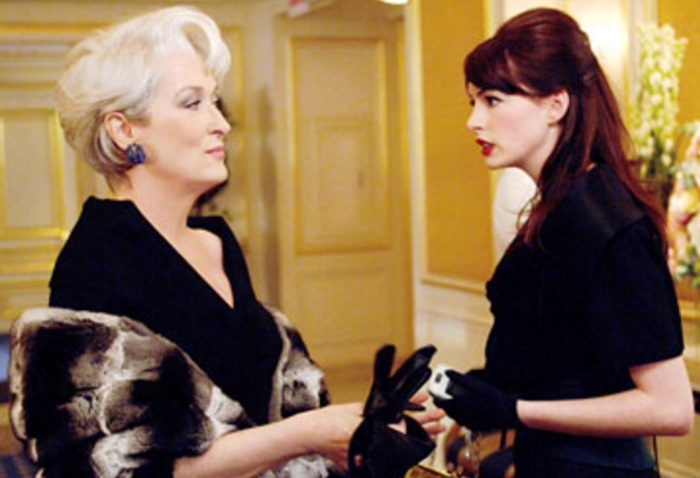 Meryl Streep e Anne Hathaway