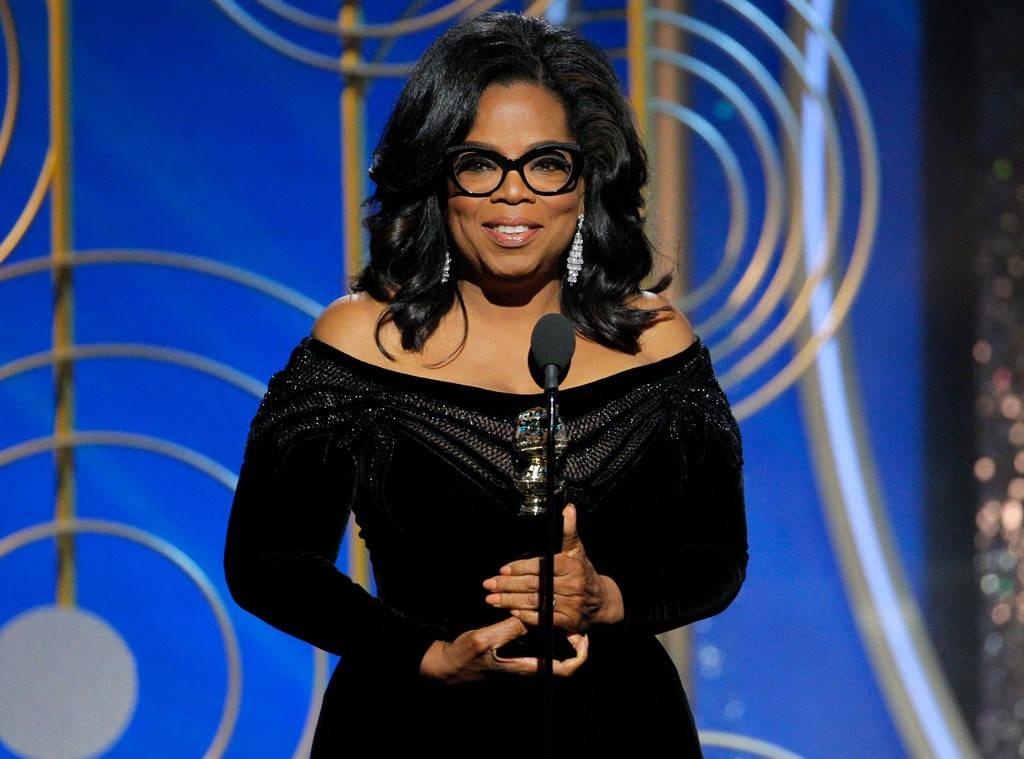 Discurso de Oprah Winfrey noGlobo de Ouro